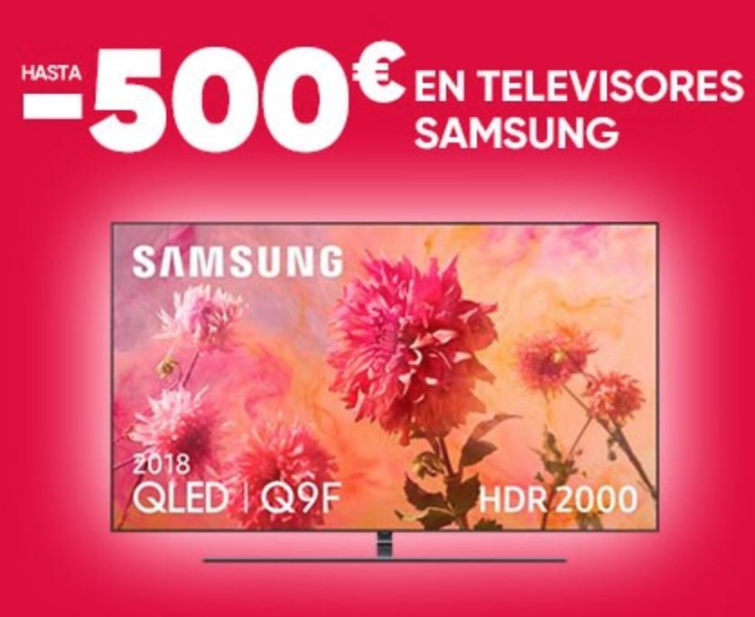 Hasta -500€ en TV Samsung - Fnac