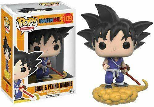 Funko de Goku con su nube