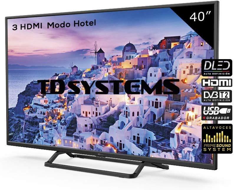"TD Systems 40"" FHD K40DLX9F [Desde España]"