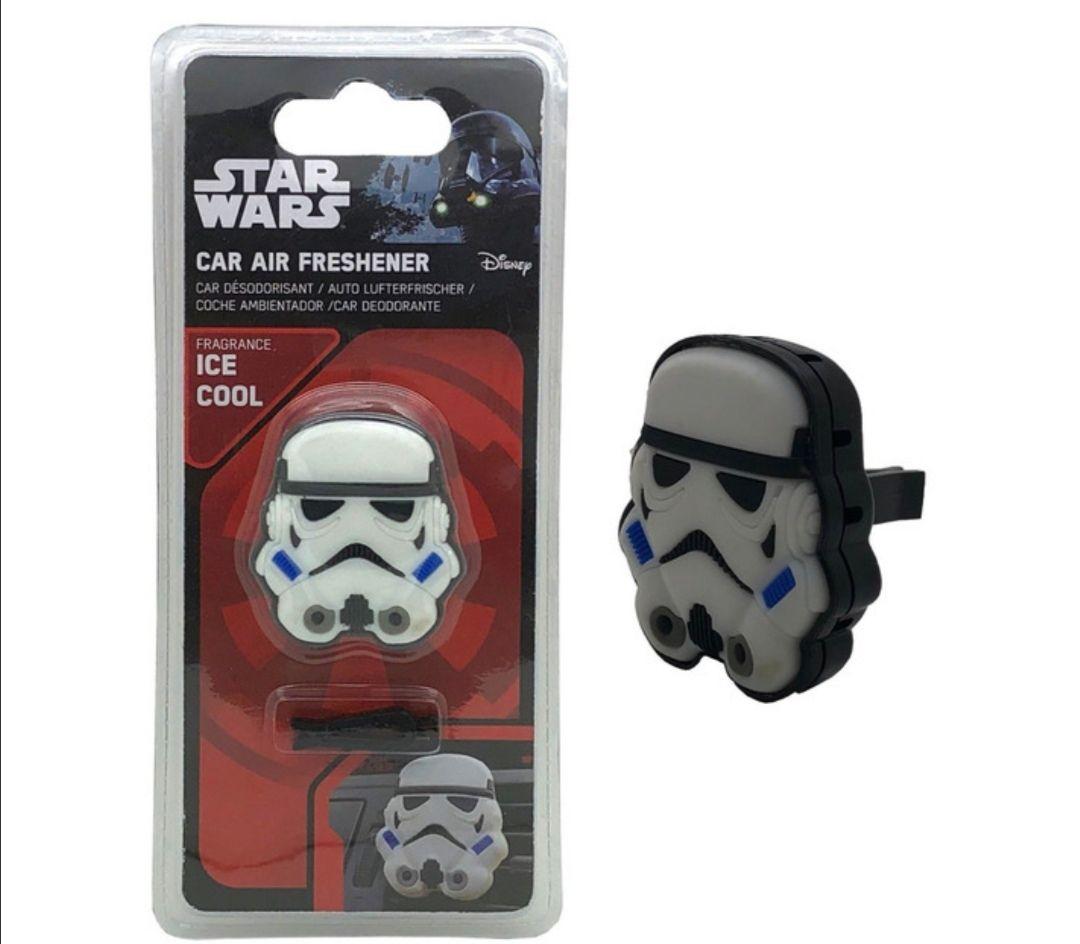 Ambientador Coche Star Wars Trooper con 2 Recambios