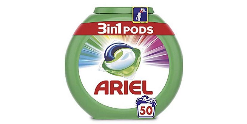 Ariel pods 3 en 1 (Precio al tramitar el pedido)