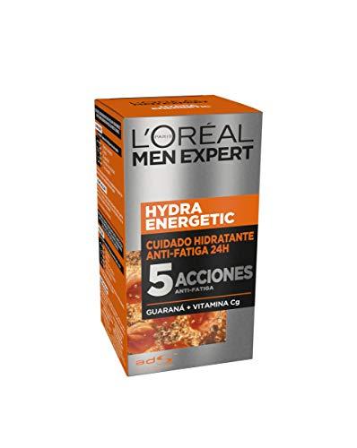 L'Oréal Paris Men Expert Hydra Energetic - Crema Hidratante Anti-Fatiga para hombre, 50 ml