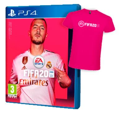 FIFA 20 PS4 + Camiseta a 29.95 € en game