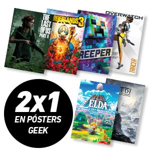 2x1 En Posters hasta el 5 de Marzo