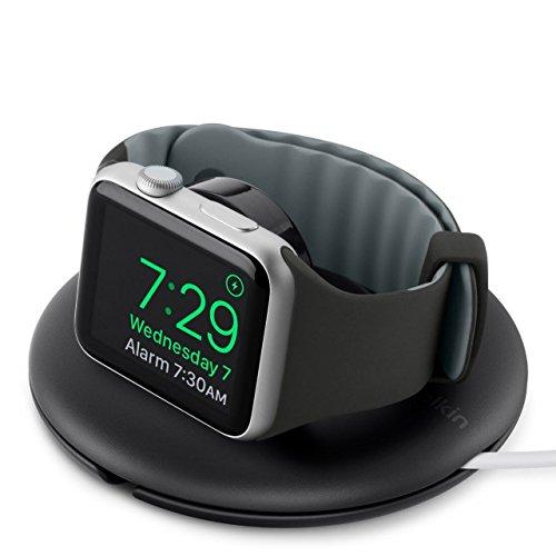 Belkin - Soporte de viaje y de carga para Apple Watch Series 4, 3, 2, 1 de 38/42 mm