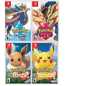 Pokemon Let´s Go, Pikachu, Eevee, Espada y Escudo (Switch, físico, AlCampo)