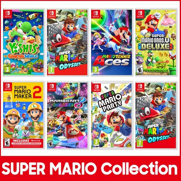 Descuentos en colección Mario (Switch, físico, AlCampo)