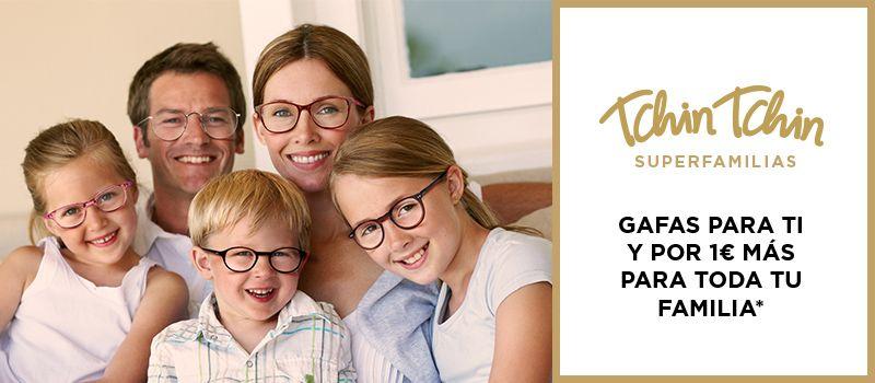 Gafas graduadas para toda la familia