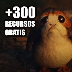 +330 recursos gratis, cursos y libros (Español, Inglés)