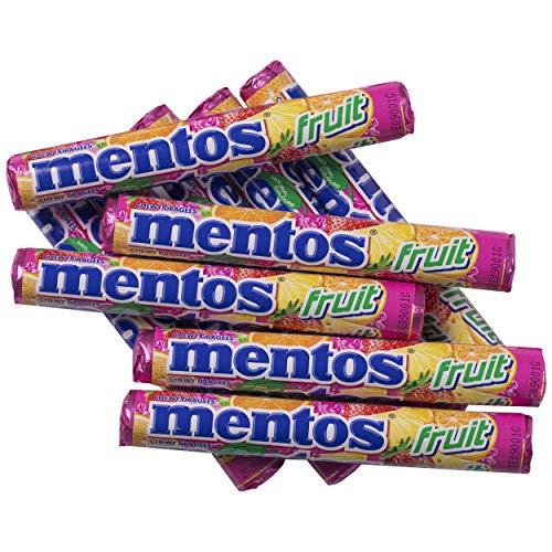 10x Paquetes Mentos Fruit