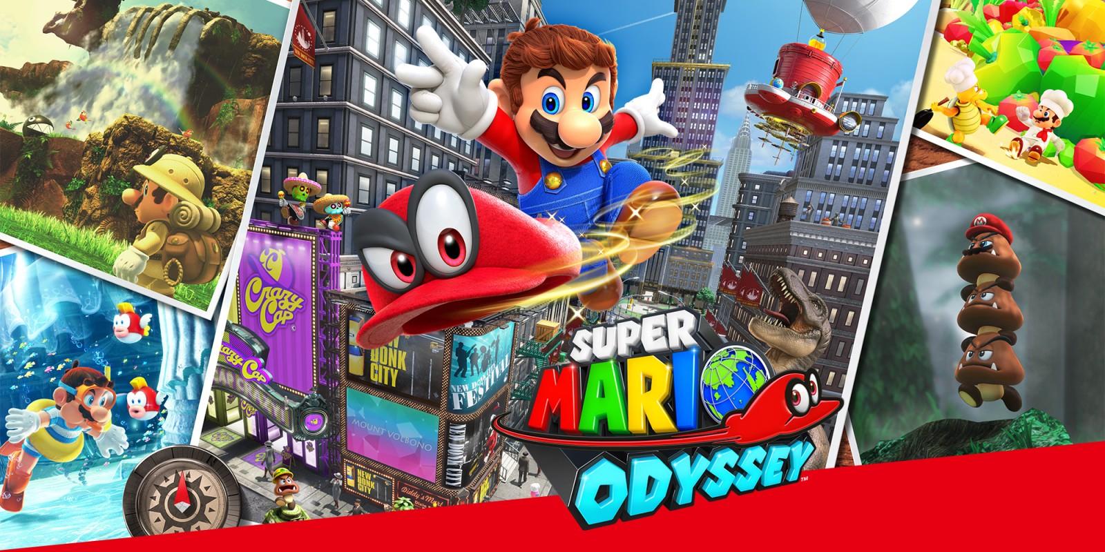 Mario Odissey Switch Digital - Nintendo eShop