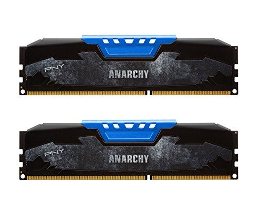 Ram PNY Anarchy 2x8GB DDR3 por 90,67€