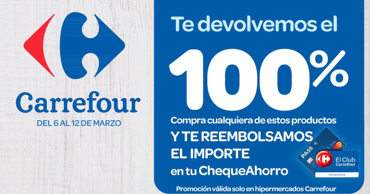 Vuelve el 100% de Carrefour - 2020 [6 al 12 Marzo]