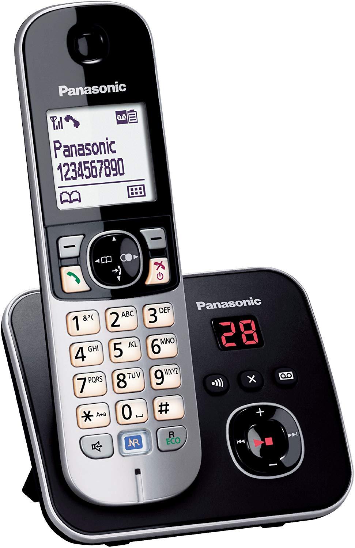 """Teléfono inalámbrico digital Panasonic KX-TG6821 GB (Reaco """"Como Nuevo"""") por sólo 10,76€ y otros teléfonos Como Nuevos"""