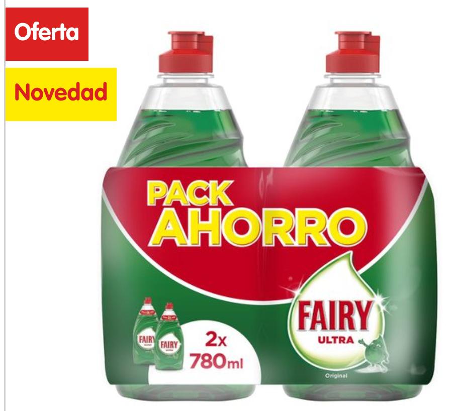 Fairy 2 x 780ml