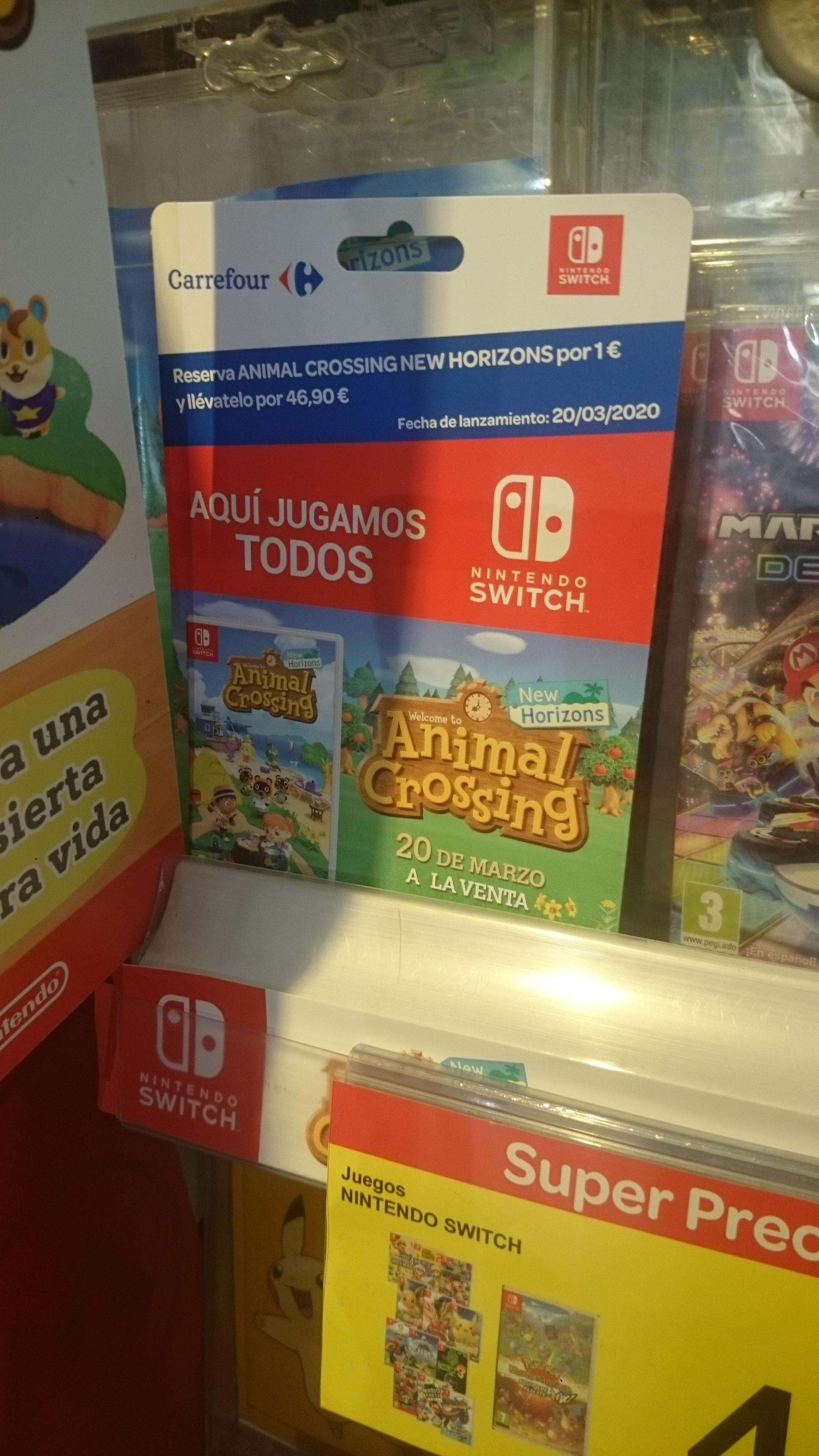 Animal Crossing Switch OFERTA SALIDA