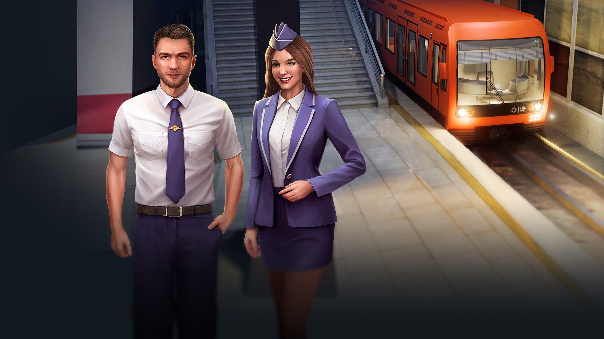 Underground Driving Simulator - Railway Trip