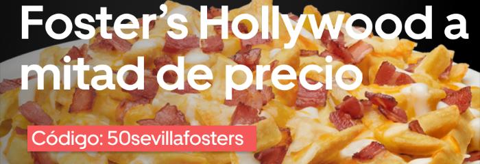 50% en Foster Hollywood Sevilla este fin de semana (Uber Eats)