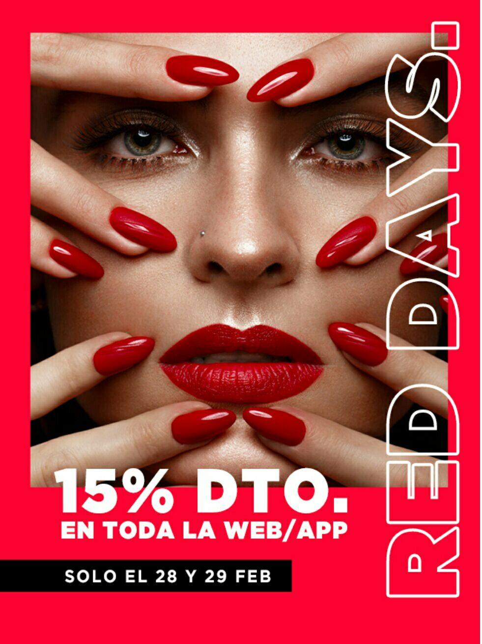 15% de descuento en toda la web y app de primor