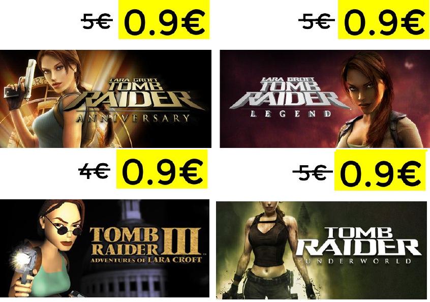 Miniprecios en la saga Tomb Raider en Steam