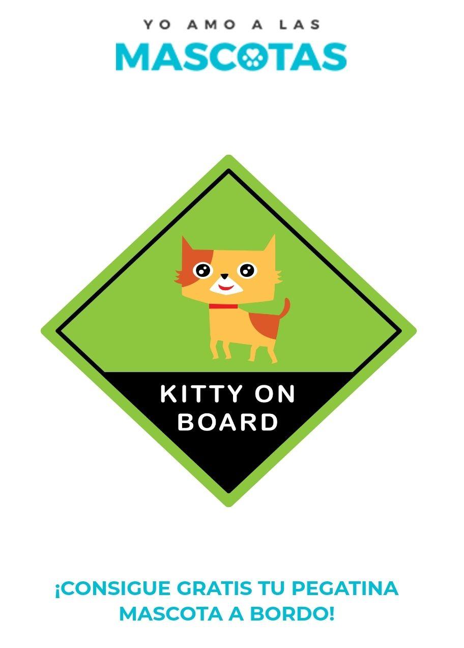 Gratis Pegatina Mascota a bordo