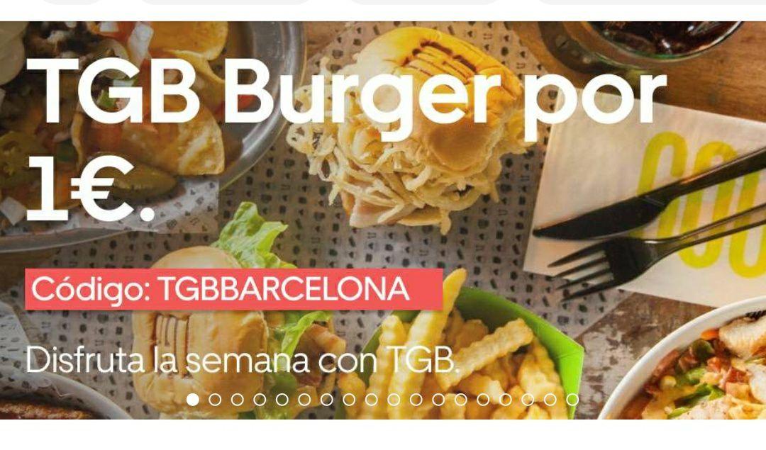 The good burger hamburguesa a 1€