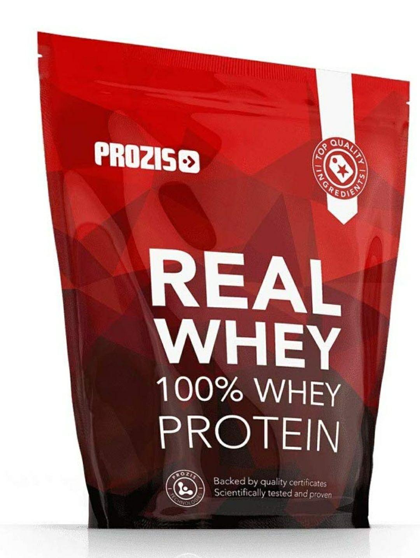 1 kg real whey 100% protein prozis (sólo cuentas seleccionadas)