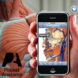 3 apps gratis de Pocket Anatomy :: Anatomy, Heart y Brain (IOS)