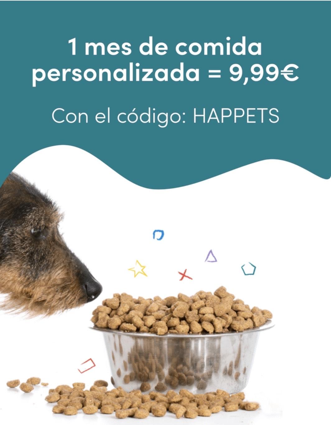 Pienso para perros personalizado a 9'99€