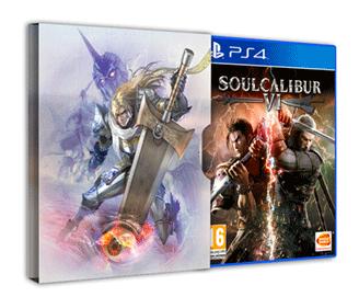 Soulcalibur vi ps4 + steelbook (steelbox)