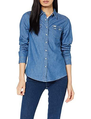 Lee Regular Western Shir Camisa para Mujer