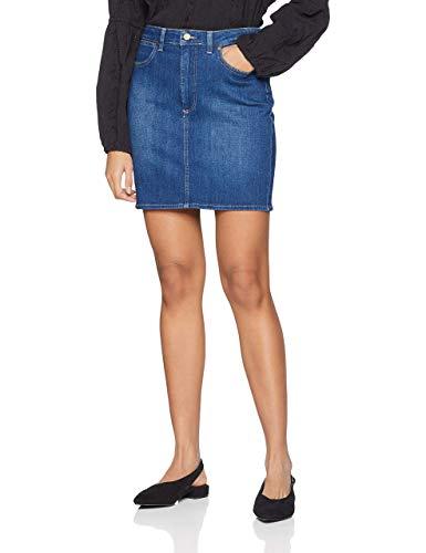 Wrangler Mid Length Skirt Falda para Mujer talla M.