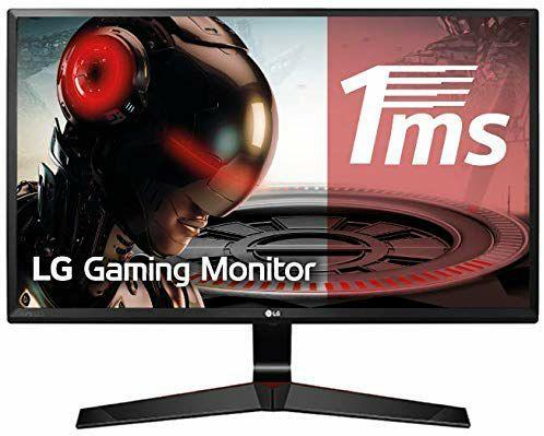 "Monitor LG de 23,8"" Full HD / IPS / 1 ms con MBR / 75Hz"