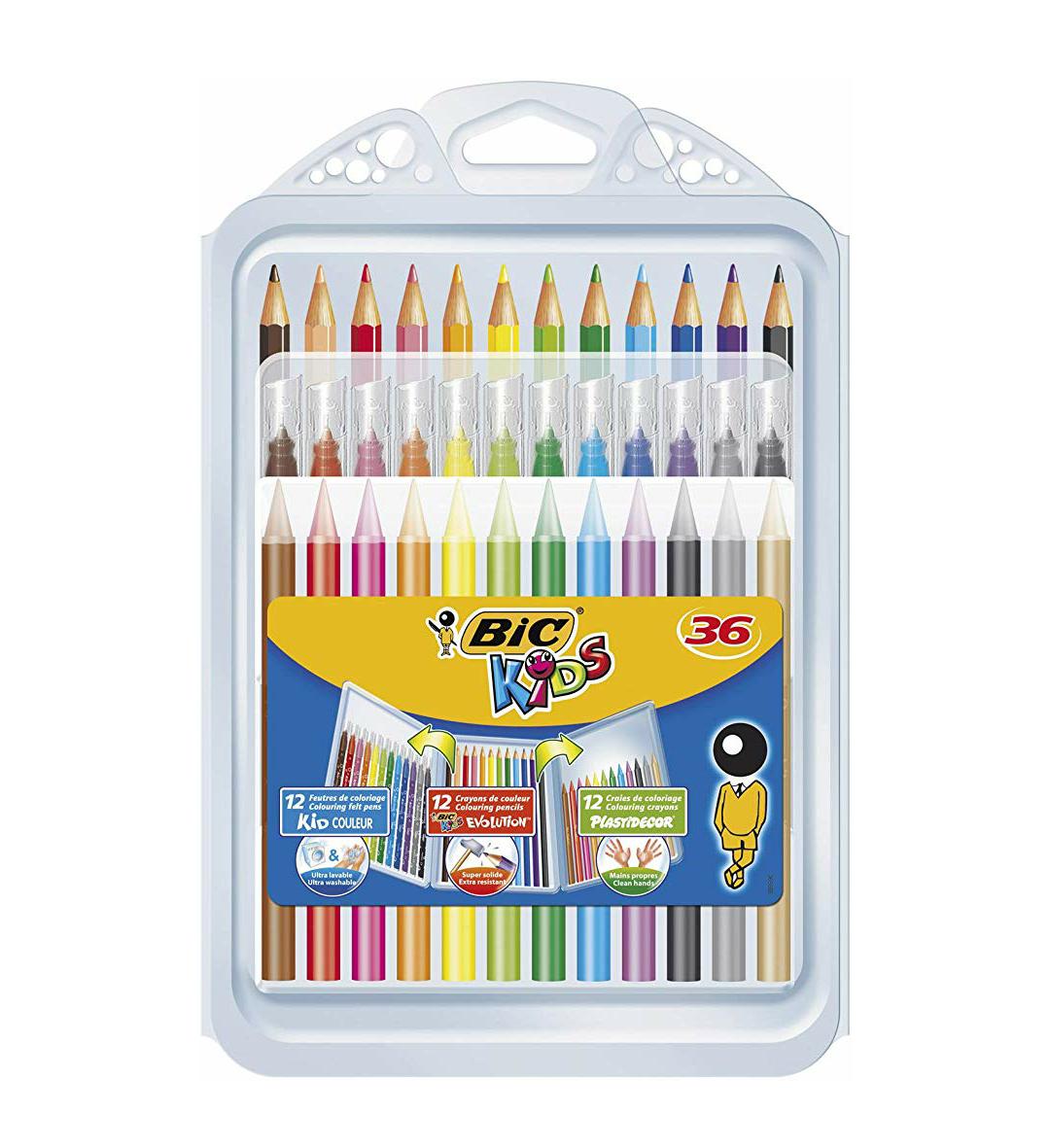 BIC Kids Set para colorear