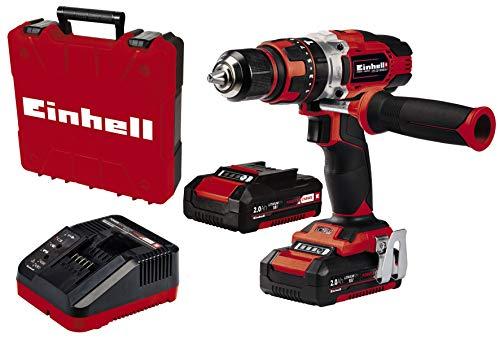 Einhell 4513935 Taladro percutor 18V + 2 Baterías