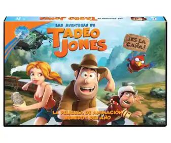 Película Las aventuras de Tadeo Jones (AlCampo)
