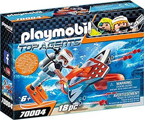 PLAYMOBIL | Top Agente Spy Team con alas acuáticas