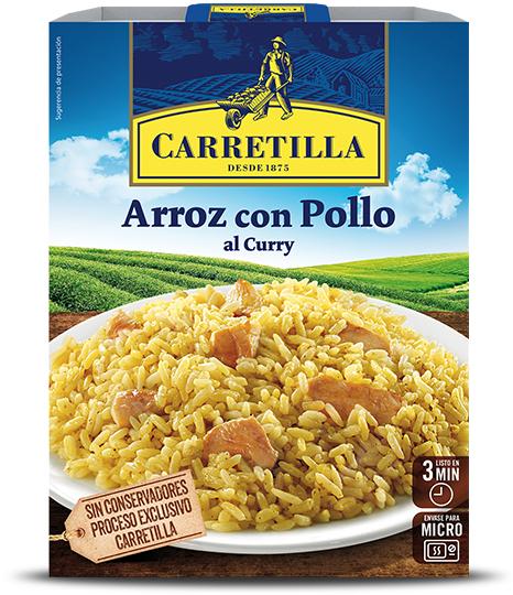 Arroz con pollo al curry envase 300g (AlCampo)