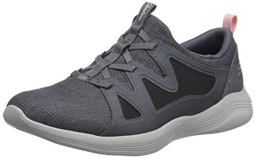 Skechers Envy-Effortlessly, Zapatillas sin Cordones para Mujer talla 35.