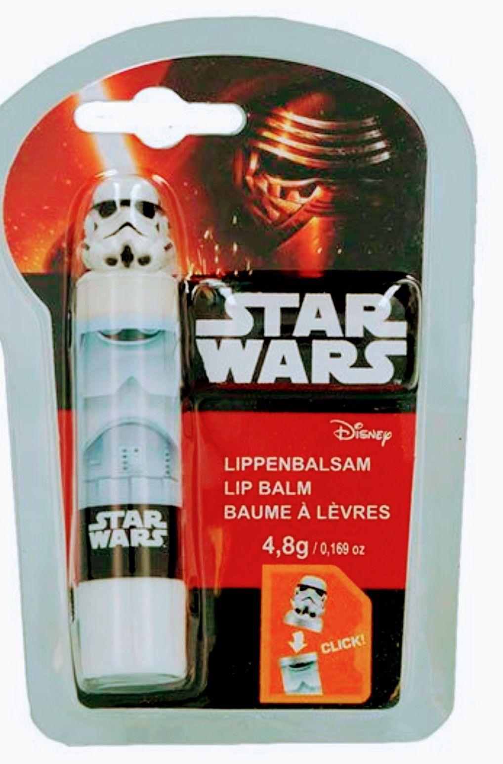Star Wars- Bálsamo labial ( 2 Modelos.)