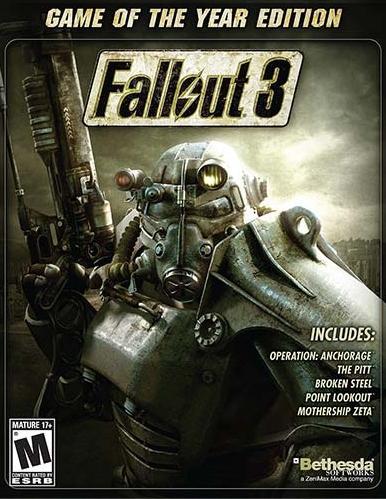 PC (STEAM): Fallout 3 por 1,06€ y Fallout 3 G.O.T.Y. por 1,97€
