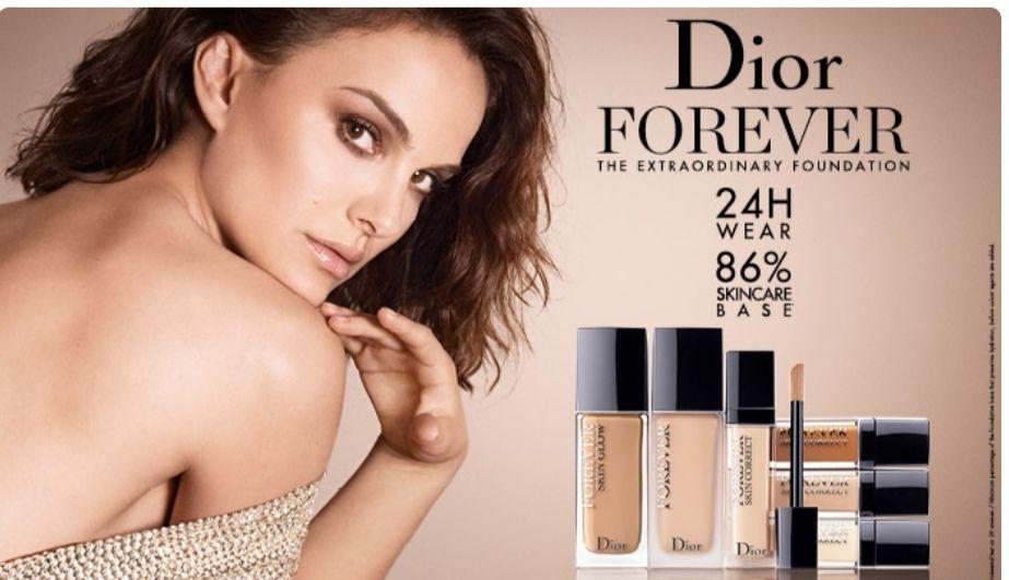 Muestras gratis Dior Forever.