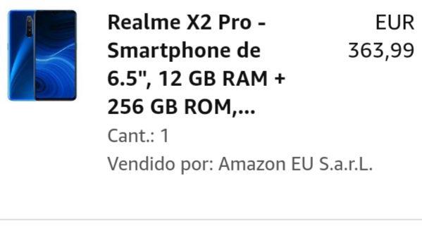 REALME X2 PRO CHOLLAZO!! SÓLO PARA ENVÍOS A CANARIAS