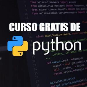 Cursos gratis de programación con Python