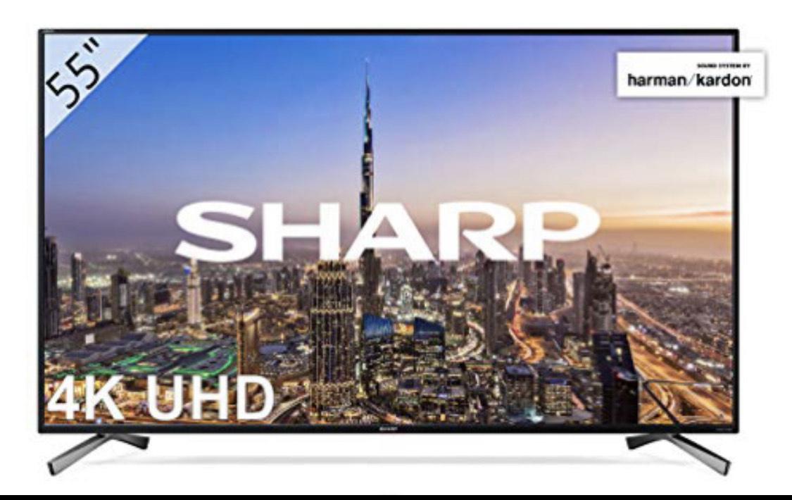 Sharp LC-55UI8652E - UHD Smart TV Slim de 55