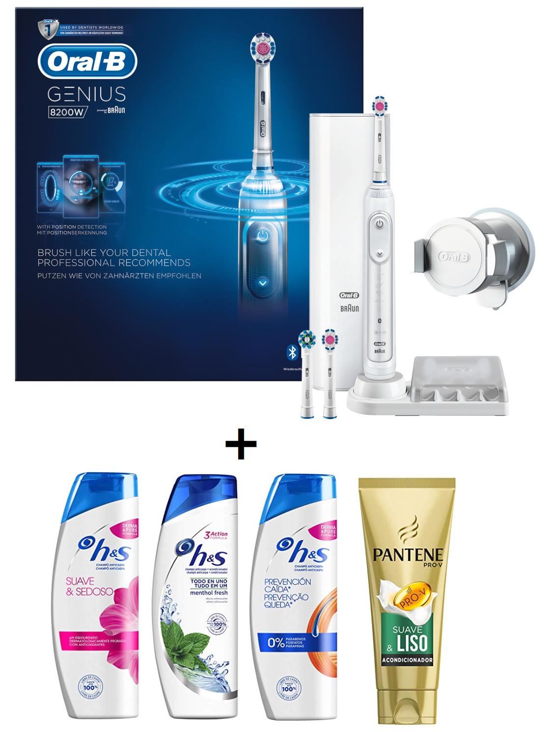 Oral B Genius + pack higiene solo 87.9€