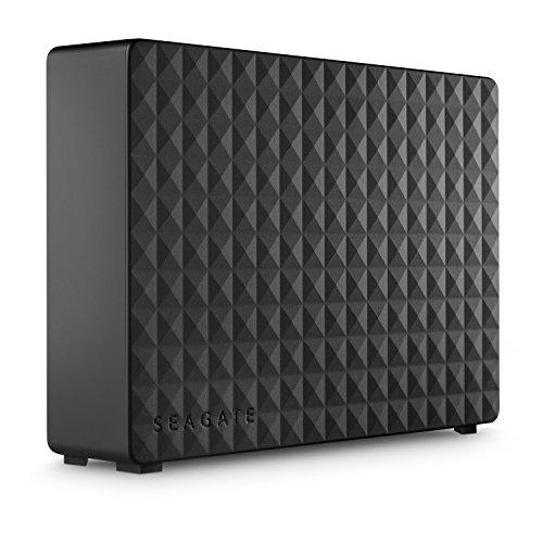 "Seagate Expansion - Disco Duro Externo de Desktop 3.5"" (6 TB, USB 3.0), negro"