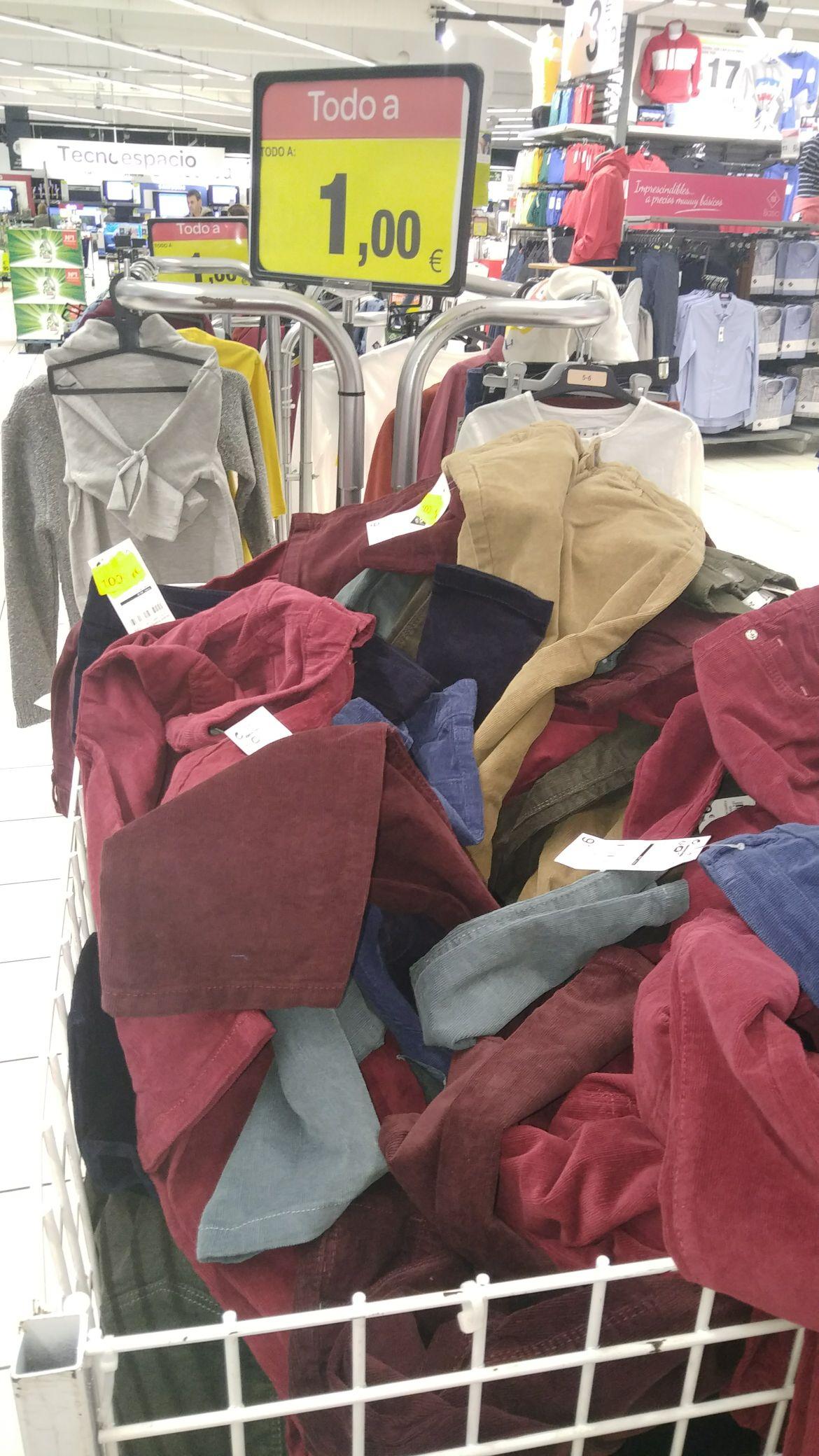 Todo a 1 euro ropa niñ@s Carrefour Vigo