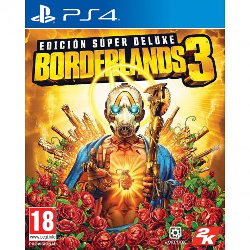 Borderlands 3 Edición Superdeluxe ps4