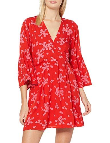 BILLABONG Divine Vestido, Mujer en 2 colores L-9.30 color rojo y color negro XS-13.38€